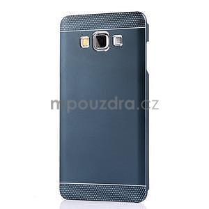 Tmavě modrý kovový kryt pre Samsung Galaxy A5 - 2