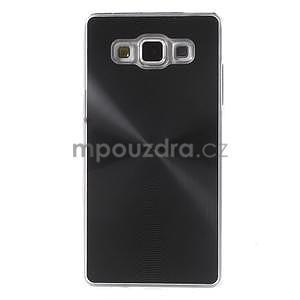 Čierny metalický kryt na Samsung Galaxy A5 - 2