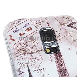 Ultra tenký gélový obal Samsung Galaxy S5 mini - Eiffel - 2