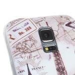 Ultra tenký gelový obal Samsung Galaxy S5 mini - Eiffel - 2/7
