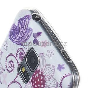 Ultra tenký gélový obal Samsung Galaxy S5 mini - motýlek - 2