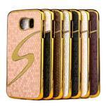 Elegantný plastový kryt pre Samung Galaxy S6 - fialový - 2/2