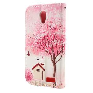 Styles peňaženkové puzdro pre mobil Lenovo A319 - domov - 2