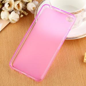Matný gélový obal pre mobil Lenovo S60 - ružový - 2
