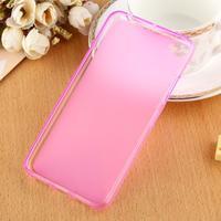 Matný gelový obal na mobil Lenovo S60 - růžový - 2/6
