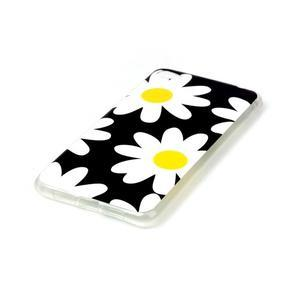 Glossy gélový obal pre mobil Lenovo S90 - kvety - 2