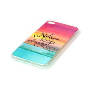 Glossy gelový obal na mobil Lenovo S90 - nepřestávej snít - 2