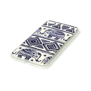 Glossy gelový obal na mobil Lenovo S90 - sloni - 2