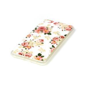 Glossy gélový obal pre mobil Lenovo S90 - kvetiny - 2