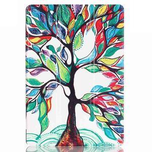 Polohovatelné pouzdro na tablet Lenovo Tab 2 A10-70 - malovaný strom - 2