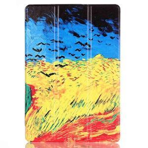 Polohovatelné puzdro pre tablet Lenovo Tab 2 A10-70 - umelecká malba - 2