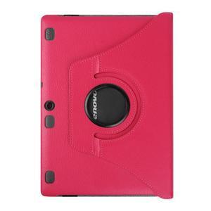 Puzdro s otočnou funkciou pre tablet Lenovo Tab 2 A10-70 - rose - 2