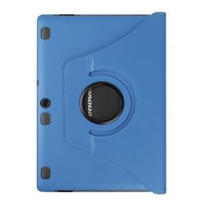 Puzdro s otočnou funkciou pre tablet Lenovo Tab 2 A10-70 - svetlomodré - 2