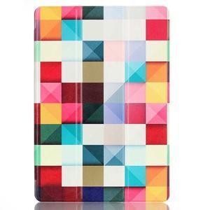 Polohovatelné puzdro pre tablet Lenovo Tab 2 A10-70 - farebné kostky - 2