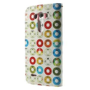 Obrázkové pouzdro na mobil LG G3 - barevná kolečka - 2