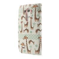 Ultra motive peňaženkové puzdro pre LG G3 - žirafy - 2/7