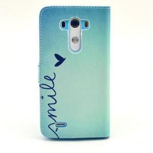 Obrázkové puzdro pre mobil LG G3 - smile - 2