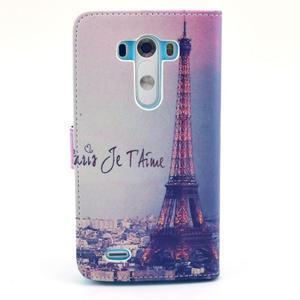 Obrázkové puzdro pre mobil LG G3 - Eiffelova veža - 2