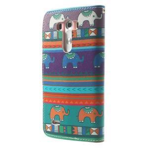 Obrázkové puzdro pre mobil LG G3 - tribal - 2