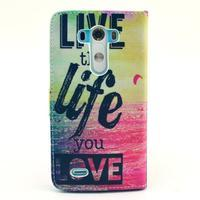 Obrázkové pouzdro na mobil LG G3 - love - 2/6