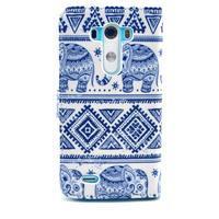 Obrázkové puzdro pre mobil LG G3 - modří sloni - 2/6