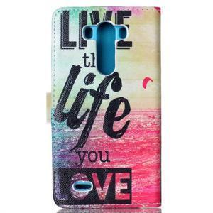 Motive puzdro pre mobil LG G3 - love - 2