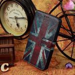 Motive koženkové pouzdro na LG G3 - UK vlajka - 2/6