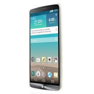 Gelový kryt na mobil LG G3 - kytičky - 2