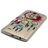 Průhledný gelový obal na LG G3 - lapač snů - 2/6