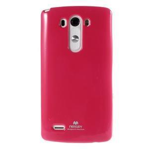 Odolný gélový obal pre mobil LG G3 - rose - 2