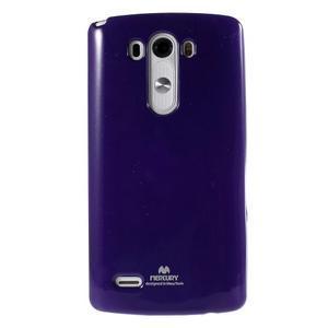 Odolný gelový obal na mobil LG G3 - fialový - 2