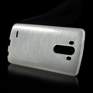 Brush gelový obal na LG G3 - bílý - 2