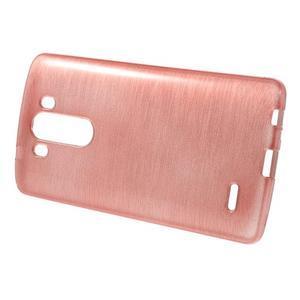 Brush gelový obal na LG G3 - růžový - 2