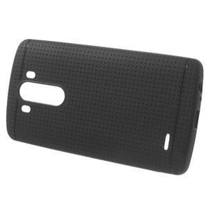Silks gélový obal pre LG G3 - čierny - 2