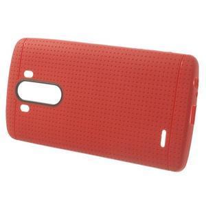 Silks gélový obal pre LG G3 - červený - 2