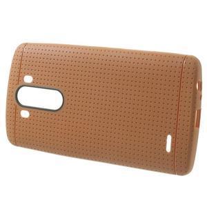 Silks gélový obal pre LG G3 - oranžový - 2