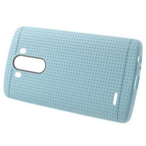 Silks gélový obal pre LG G3 - svetlomodrý - 2