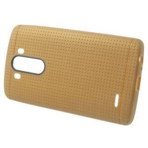 Silks gélový obal pre LG G3 - hnedý - 2