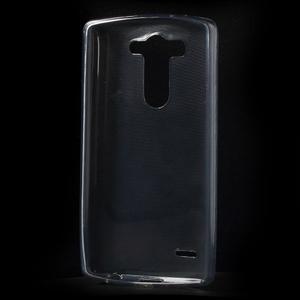 sivý ochranný gélový kryt LG G3 s - 2