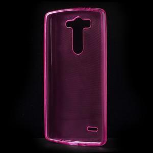 Rose ochranný gélový kryt LG G3 s - 2