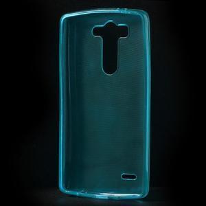 Modrý ochranný gélový kryt LG G3 s - 2