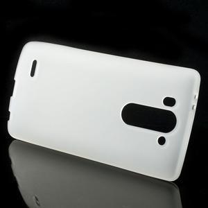 Transparentní matný gélový kryt LG G3 s - 2