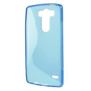 S-line modrý gélový obal na LG G3 s - 2