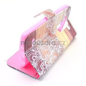 Peňaženkové puzdro na LG G3 s - mandala - 2