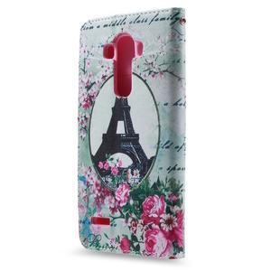 Call peněženkové pouzdro na LG G4 - Eiffelova věž - 2