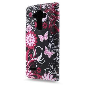 Call peňaženkové puzdro pre LG G4 - kouzelní motýľe - 2