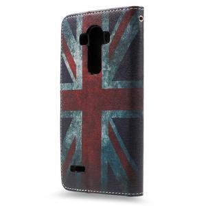 Call peňaženkové puzdro pre LG G4 - UK vlajka - 2