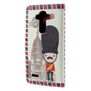Koženkové puzdro pre mobil LG G4 - soldier - 2