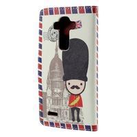 Koženkové puzdro pre mobil LG G4 - soldier - 2/7