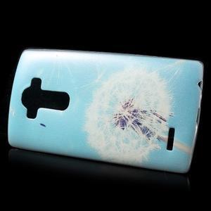 Softy gélový obal pre mobil LG G4 - púpava - 2